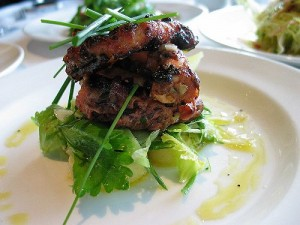 Grilled Octopus with Celery, Potatoes and Lemon