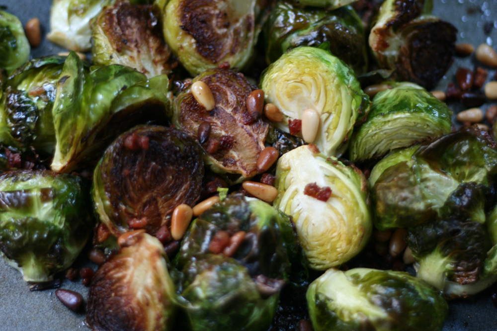 Why am I so obsessed with Brussels Sprouts?? (img: Sean Patrick Doyle)
