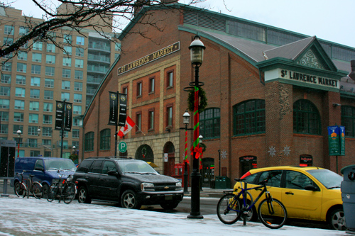 St. Lawrence Market exterior (img: Sean Patrick Doyle)